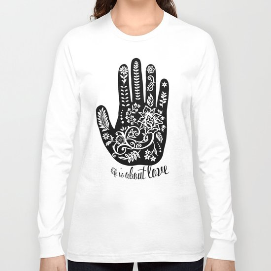Life and Love Long Sleeve T-shirt