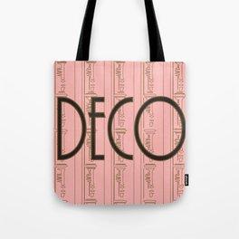 Deco Print Tote Bag
