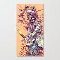 occult Canvas Prints featuring Occult Trench by Witnesstheabsurd