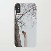 alone iPhone & iPod Cases featuring Alone by Jovana Rikalo