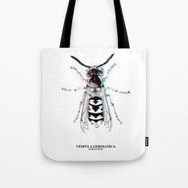 Vespula Germanica (german wasp) Tote Bag