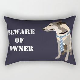 Mojo the Belgian shepherd Rectangular Pillow