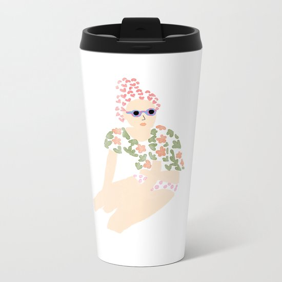 How to stay fashionable during summer Metal Travel Mug