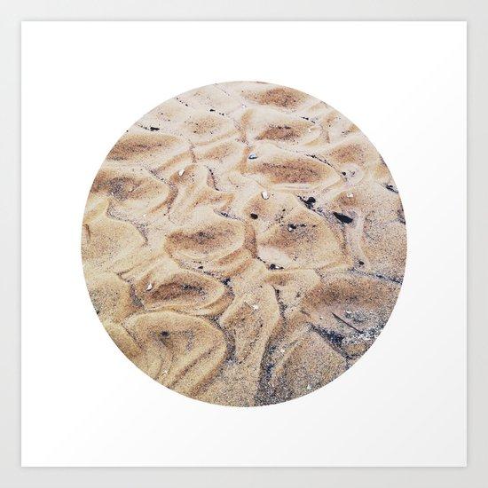 Planetary Bodies - Sand Art Print