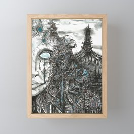 Cybertopia Framed Mini Art Print