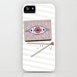 Perfect Match iPhone Case