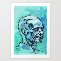 Father André Art Print