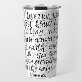 I Love You Much Travel Mug