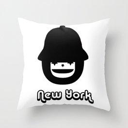 STEVEN DANA NEW YORK CHILIBOY Throw Pillow