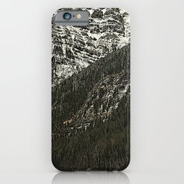 Robson: from Lake to Mountain Top iPhone Case