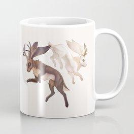 Ying Yang Jackalope Coffee Mug