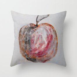 The Apple by Machale O'Neill Throw Pillow