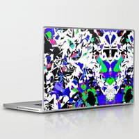 robot Laptop & iPad Skins featuring robot by BUBUBABA