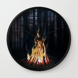 Campfie Strories Wall Clock
