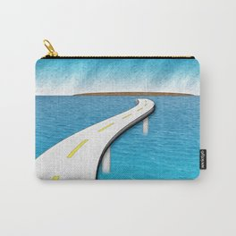 Road Work Ahead Carry-All Pouch