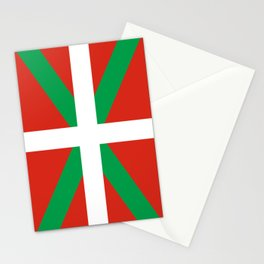 Basque Country: Euskaldun Flag Stationery Cards