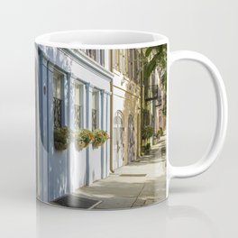 Charleston SC No. 4  Rainbow Row Coffee Mug