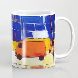 Yellow Buses Coffee Mug