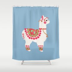 The Alpaca Shower Curtain