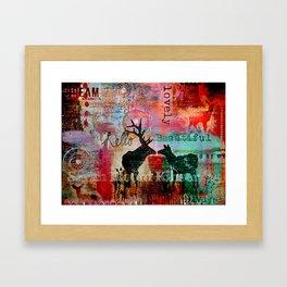 Hello Beautiful2 Framed Art Print