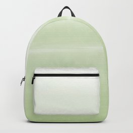 Fog Green - Abstract Art Series Backpack