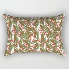 Flowering Gum - White Rectangular Pillow