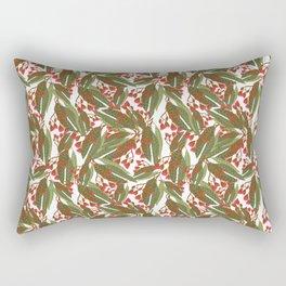Flowering Gum - White Rectangular Pillow