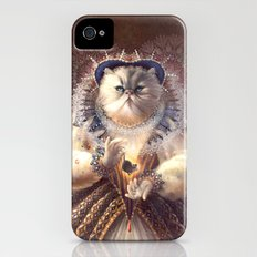 Cat Queen iPhone (4, 4s) Slim Case