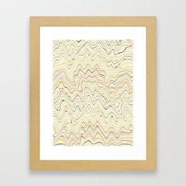 lines III Framed Art Print