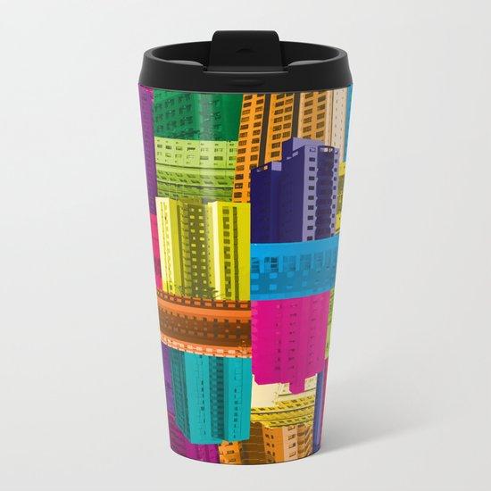Fragment VI Metal Travel Mug