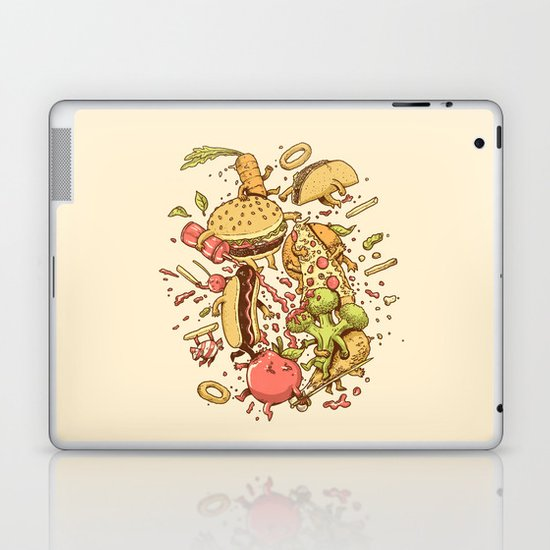 Food Fight Laptop & iPad Skin