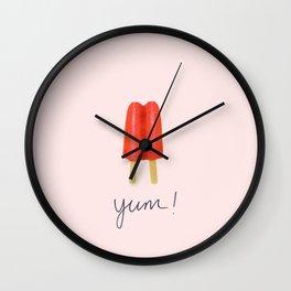 Yum! Wall Clock