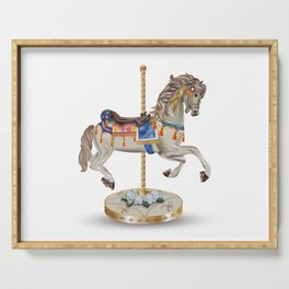 carousel horse Serving Tray