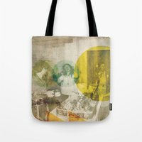 bread Tote Bags featuring Bread. by Sarah Duet