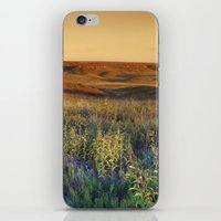 kansas iPhone & iPod Skins featuring Kansas landscape by Brad David