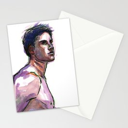 MICHAEL, Semi-Nude Male by Frank-Joseph Stationery Cards