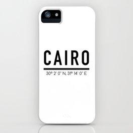 Cairo iPhone Case