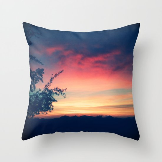 An Arizona Sunset Throw Pillow