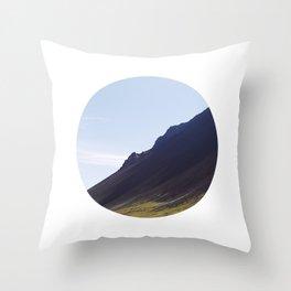 Obliquo, Iceland Throw Pillow