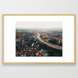 Kajang, Malaysia Framed Art Print