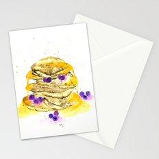 fluffy pancake Stationery Cards