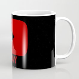 Play Button Coffee Mug