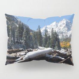 Maroon Bells Outside Aspen, Colorado Pillow Sham