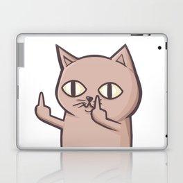 FU Cat Laptop & iPad Skin