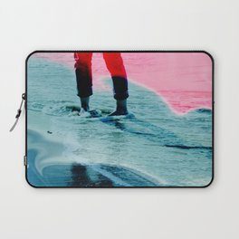 A girl and the sea Laptop Sleeve