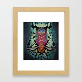 Meu Jardim Framed Art Print