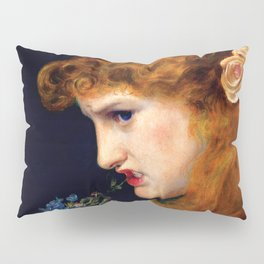 "Anthony Frederick Augustus Sandys ""Love's Shadow"" Pillow Sham"