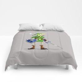Pixel Link Comforters