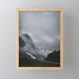 Roadsmoke I Framed Mini Art Print