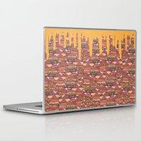 burger Laptop & iPad Skins featuring Burger  by b a r t • n e